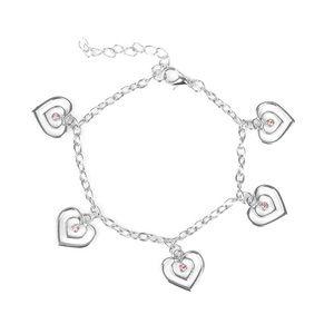 Paparazzi Heart Charm Bracelet